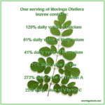 What a Serving of Moringa Leaves Contains