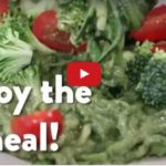 Moringa Pesto Zucchini Noodles Recipe